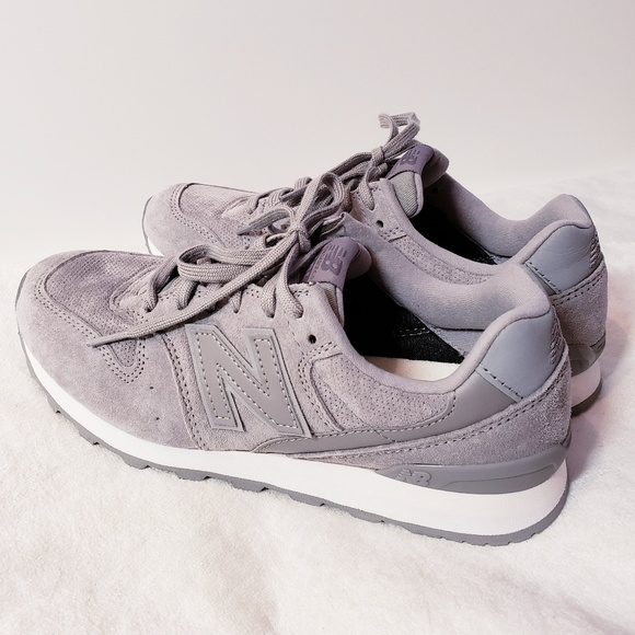 the latest 56d42 7dde5 New Balance 696 running shoes in grey size 6.5 US